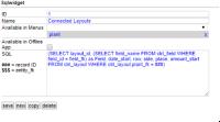 Example SQL Widget
